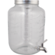 Glass Beverage Dispenser with Infuser and Stainless Spigot - 8L / 2.1 gal.