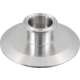 ForgeFit® Stainless Tri-Clamp End Cap Reducer - 4 in. x 1.5 in.