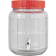 Wide Mouth Glass Carboy with Spigot - 1.3 gal.