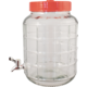 Wide Mouth Glass Carboy with Spigot - 2.3 gal.