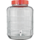 Wide Mouth Glass Carboy with Spigot - 4 gal.