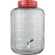 Wide Mouth Glass Carboy with Spigot - 6 gal.