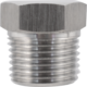 Stainless Plug - 1/2 in. MPT - Solid
