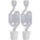 S-Shaped Airlock & Stopper Kit (Pack of 2)