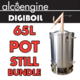 65L DigiBoil Still Kit with Copper Pot Still (220V)