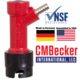 CM Becker Pin Lock Beverage Out - Barb