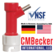CM Becker Pin Lock Gas In - Barb