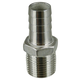 Stainless - 1/2 in. MPT x 5/8 in. Barb (1/2 in. ID)