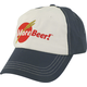 MoreBeer! Blue & White Low Profile Hat