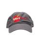 MoreBeer! Hat - Low Profile, Dark Grey, Washed