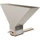 Grain Gobbler Homebrew Grain Mill With Stainless Hopper (4 Inch)