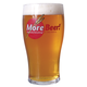 MoreBeer! Imperial Pint Glass (20 oz)