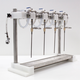 Micro Filling Systems 4 Head Counter Pressure Filler