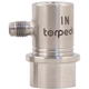 Torpedo Ball Lock Gas In - Flared Stainless