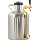 GrowlerWerks UKeg 128 Pressurized SS Growler - 128 oz