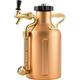 GrowlerWerks Pressurized Copper Growler - 64 oz