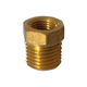 Brass - 1/8 in. FPT x 1/4 in. MPT Bushing
