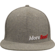 MoreBeer! Hat - Grey Flat Bill