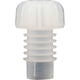 Champagne Stoppers - White Plastic - Pack of 100