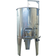 1100 l (290 gal) Speidel Variable Volume Max Jacketed Dish Bottom Tank with Manway and Sight Gauge