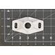 Destemming Shaft Bracket for WE220, WE223, WE235 & WE236, Feed Auger Bracket for WE223