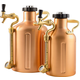 GrowlerWerks uKeg Pressurized Copper Growler