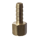 Brass - 1/4 in. FPT x 5/16 in. Barb