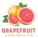 Fruit Flavorings - Grapefruit (1/2 oz)