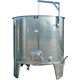 4900L Variable Volume/Conical Bottom Red Fermentation Tank w/ Manway