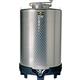 Speidel 1050L FD-B Dish Bottom Sealed Distiller's Tank w/ Forkliftable PE Base