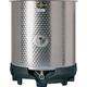Speidel 750L SO-Z Dish Bottom Open Top Mixing Tank w/ Forkliftable PE Base)