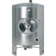 Speidel 8000L, 1800mm Diameter AS-MO Dish Bottom Sealed Stacking Tank