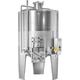 Speidel 3,300L/1600 mm Diameter FD-MUTK Sealed Red Wine Fermenter w/ Pumpover Assembly and Standard Manway