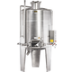 Speidel 3,300L/1600 mm Diameter FD-DFTK Sealed Red Wine Fermenter w/ Pulse-Air System and Standard Manway