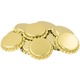 Gold Oxygen Absorbing Bottle Caps (50 Caps)
