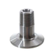Stainless - 1.5 in. TC x 1/2 in. MPT