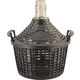 Glass Demijohn - 1.3 G (5 L) - Narrow Mouth With Plastic Basket