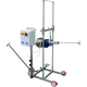 EnoItalia Wine Tank Mixer with Speed Control and Adjustable Cart