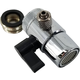 BrewRO Faucet Input/Diverter