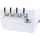 Komos™ Marine Ultra Cooler Draft Box - 4 Tap