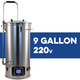 Robobrew / BrewZilla V3.1 All Grain Brewing System With Pump - 35L/9.25G (220V)