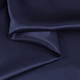Navy Blue Crepe Back Satin Fabric