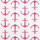 Premier Prints Anchors Candy Pink Fabric