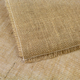 Natural Square Fringed Jute Tablecloth - 72