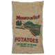 Mountain View Burlap Potato Bags