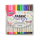 Tulip Fine Tip Fabric Markers - 12 Pack