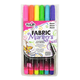 Tulip Neon Fine Tip Fabric Markers - 6 Pack