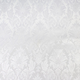 White Damask Brocade Fabric