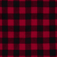 Buffalo Plaid Red WinterFleece Fabric