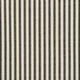Waverly Waverly Timeless Ticking - Black / Cream Fabric
